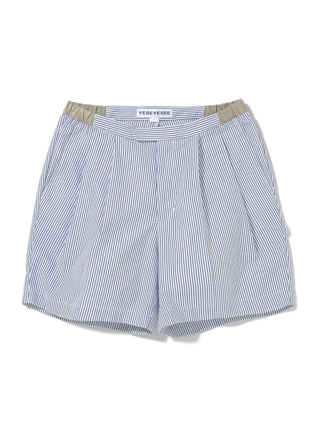 Seersucker Shorts Stripe