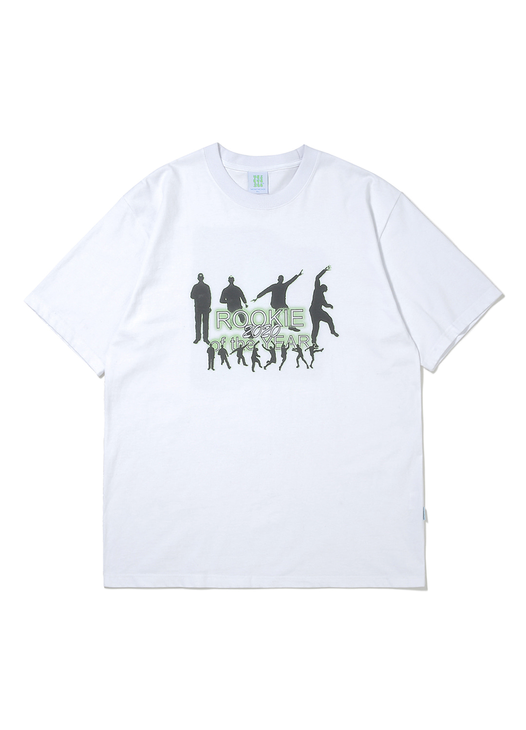 Rookie Card Tee White