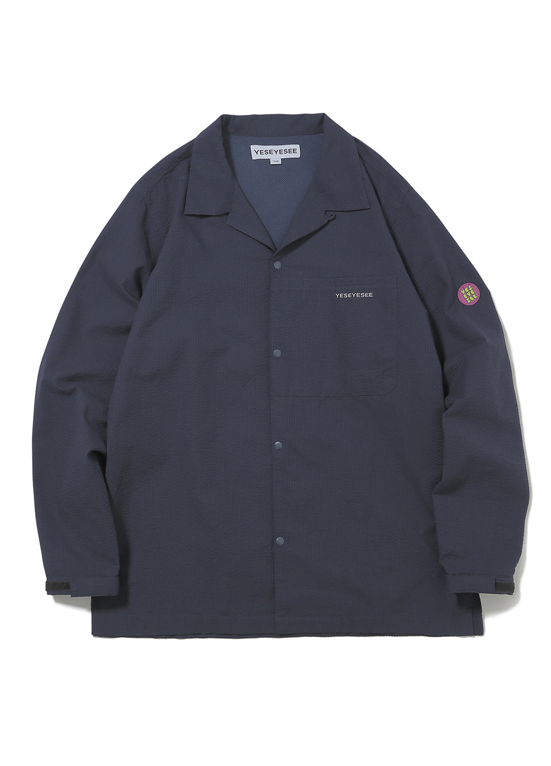 Seersucker Shirts Navy