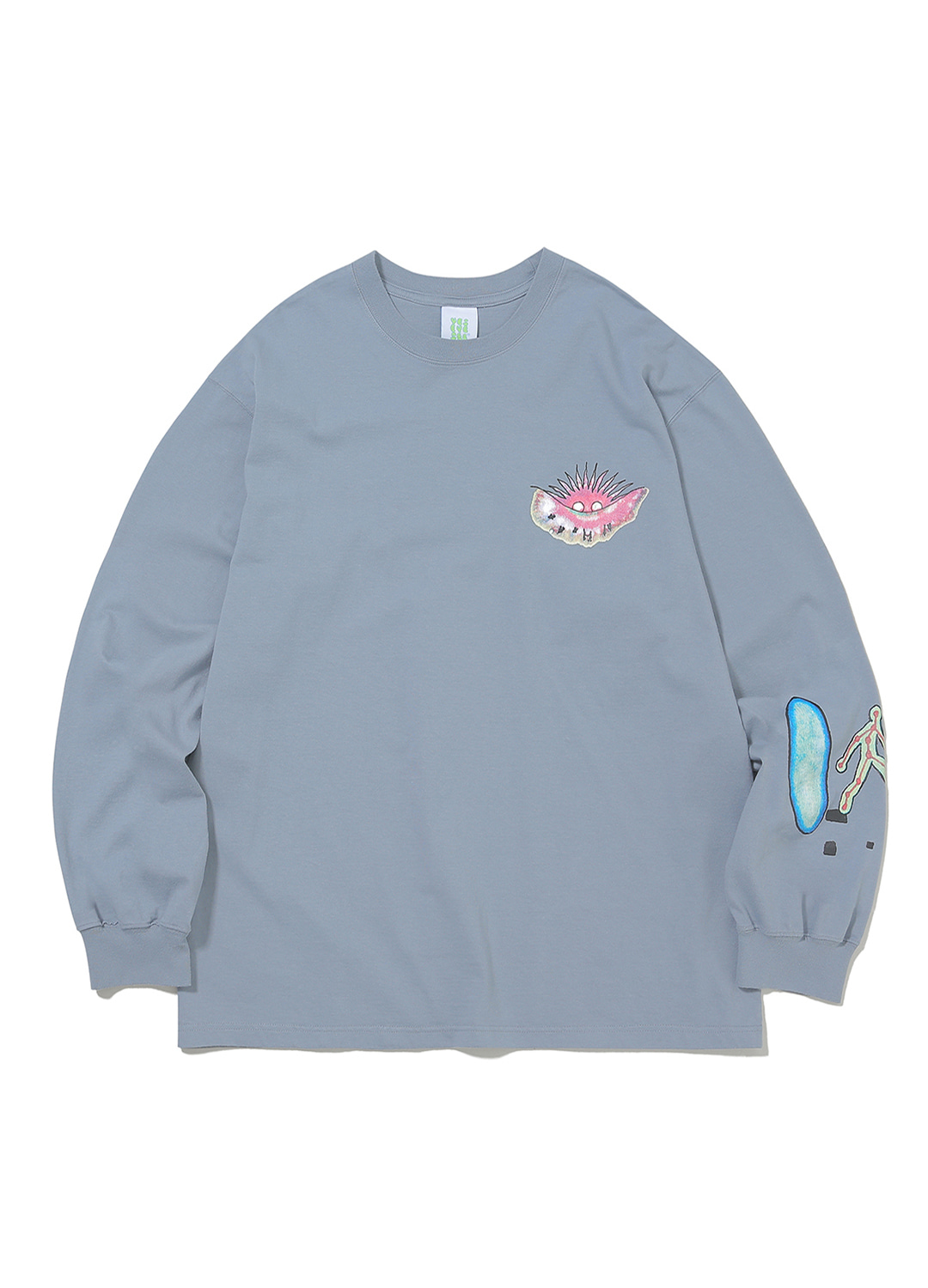 Juwonman Long Sleeve Sky Blue