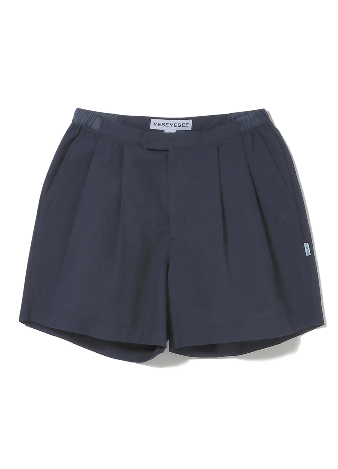 Seersucker Shorts Navy