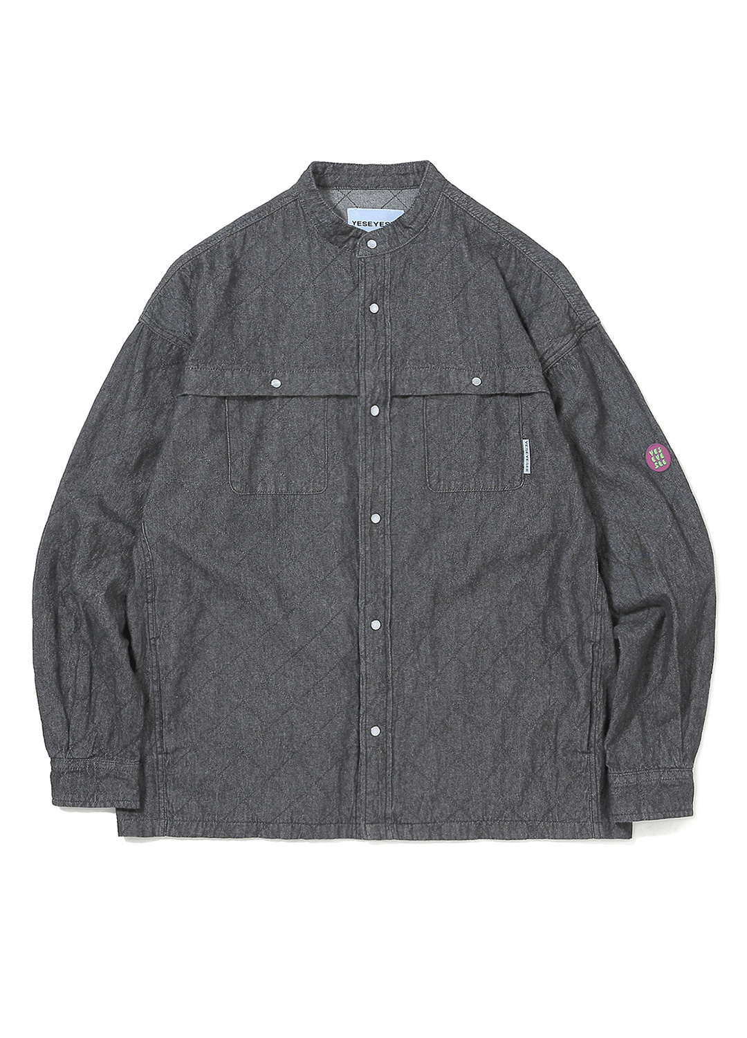 Net Denim Shirts Black