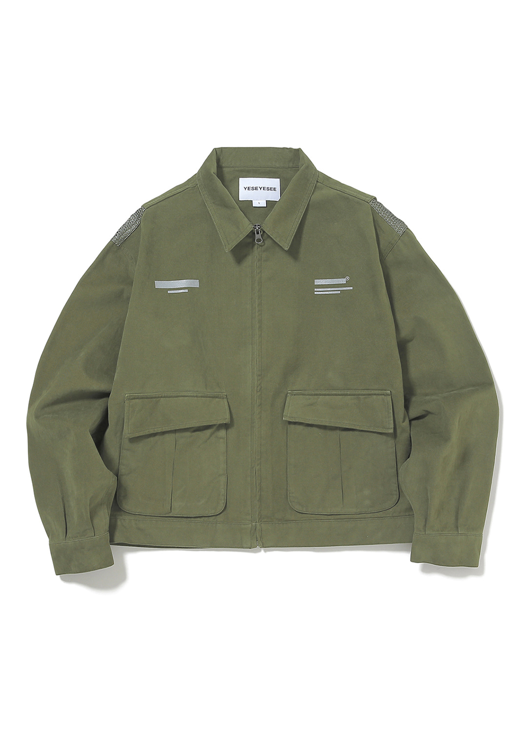 Vented Trucker Jacket Olive