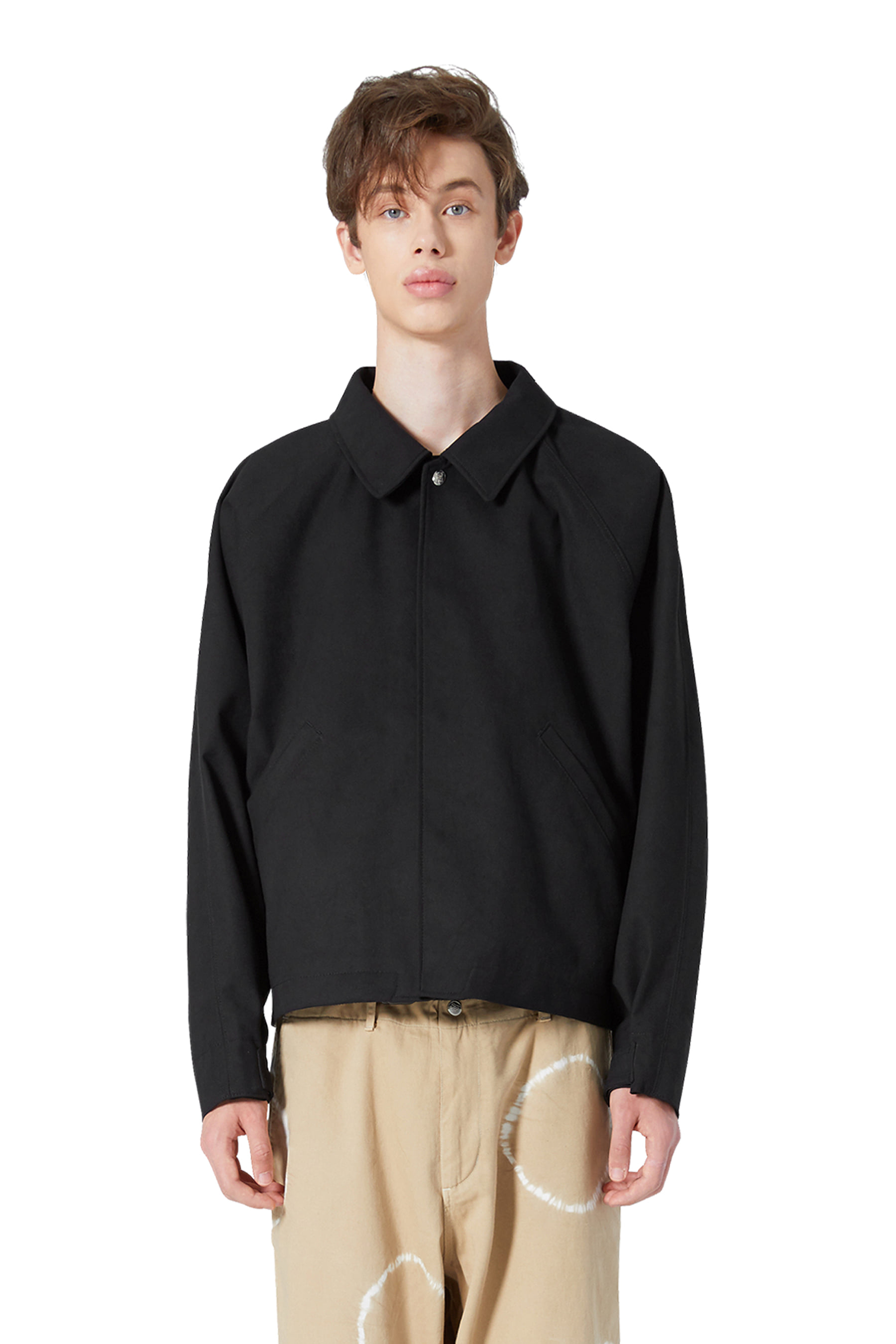 Y.E.S Suade Jacket Black