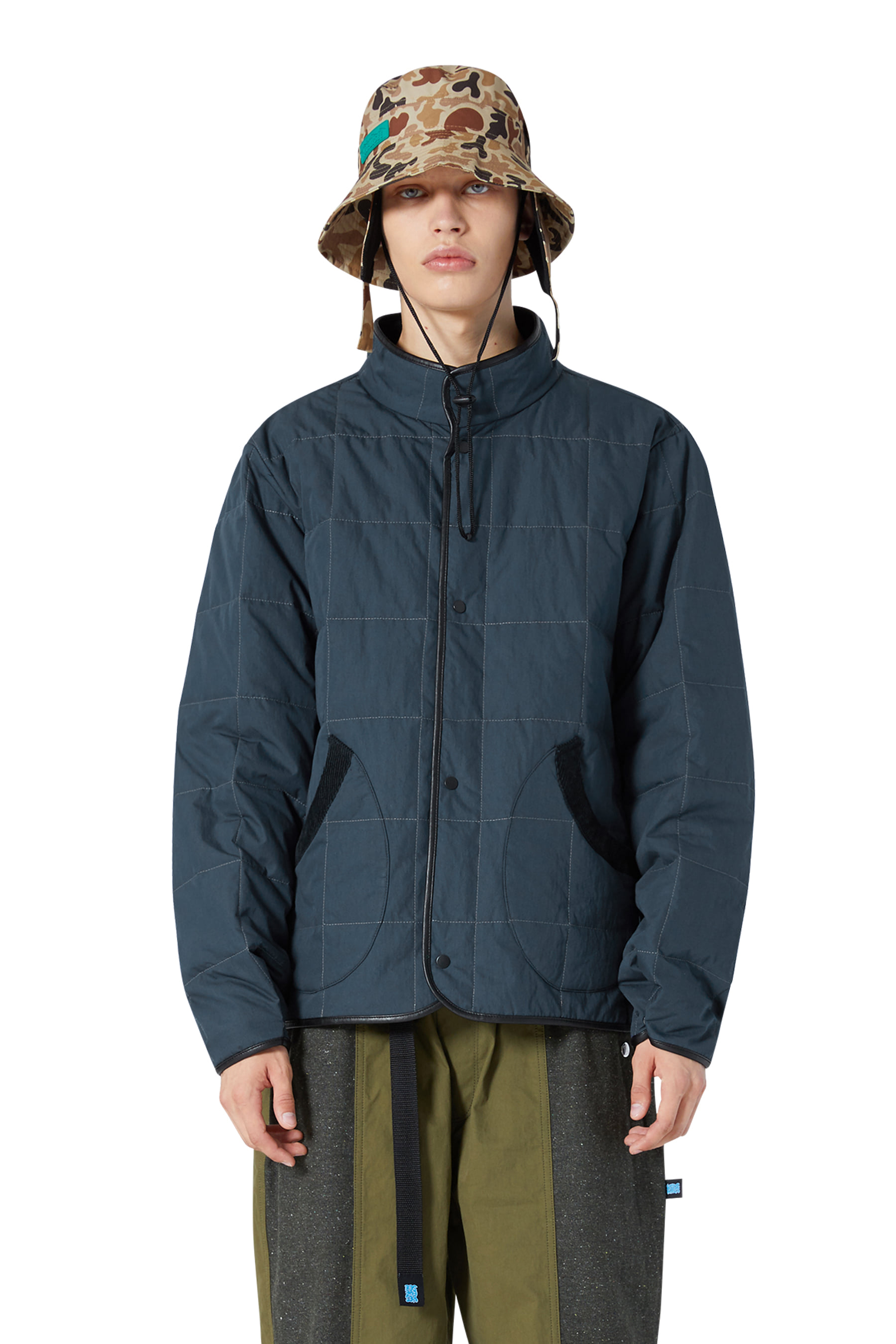 Y.E.S Padded Jacket Navy