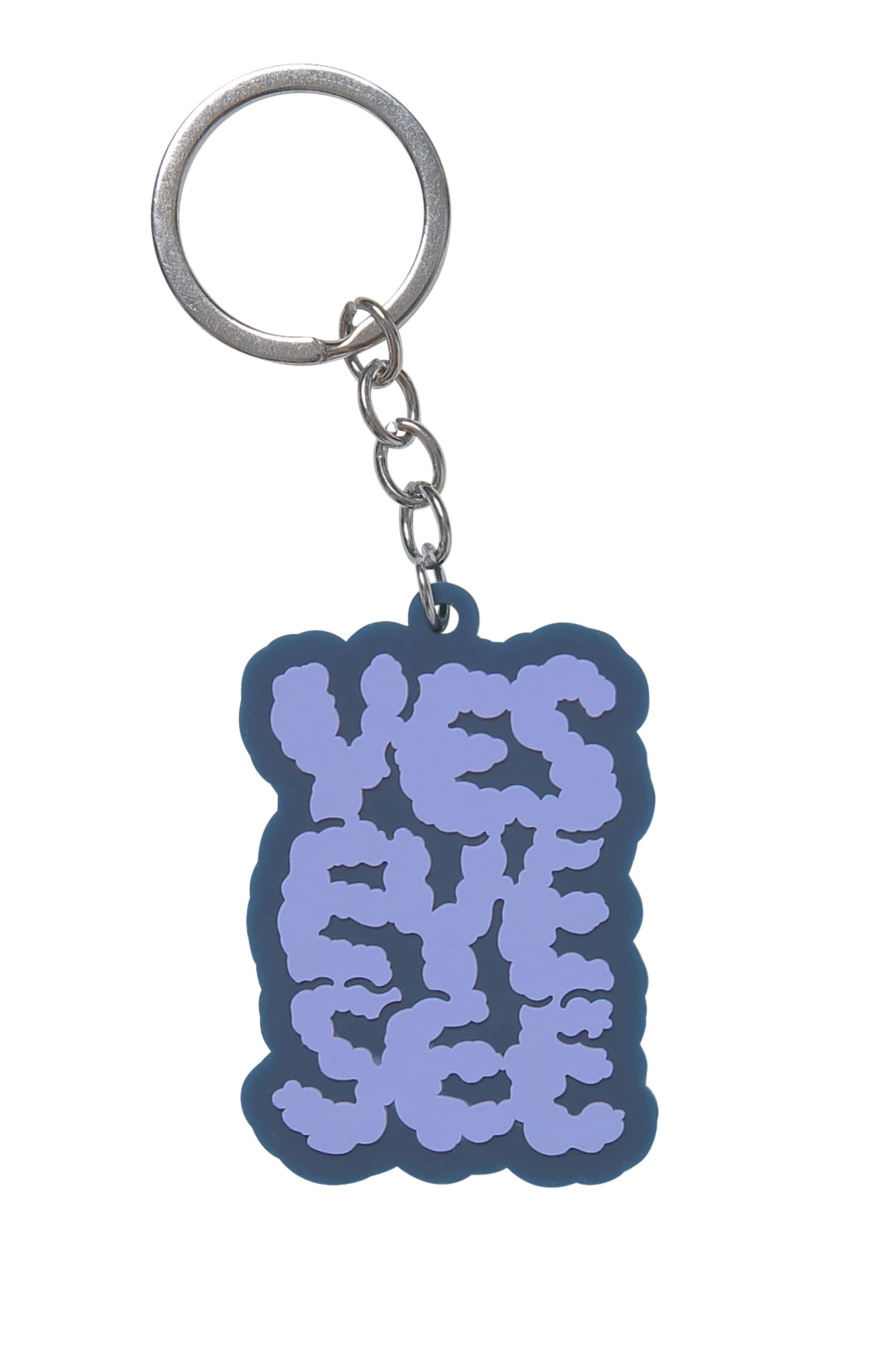 Y.E.S  Cloud keyring Navy