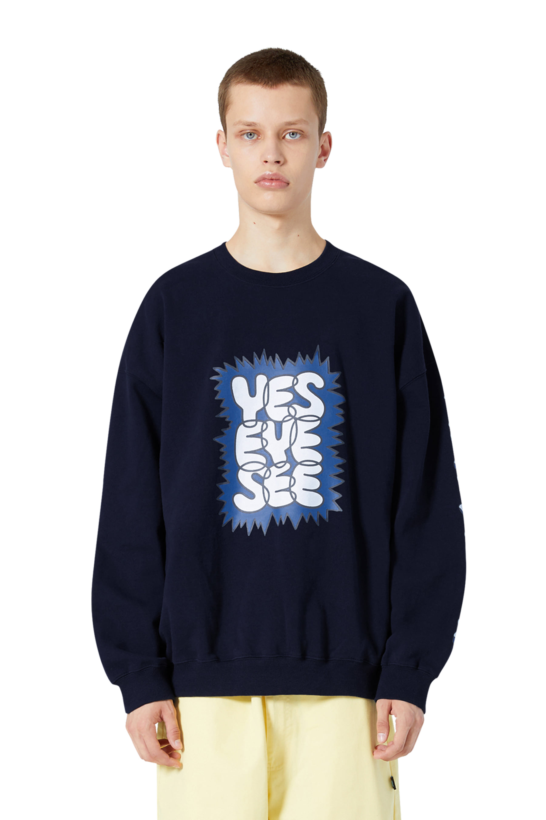 Acid Sweatshirts Navy
