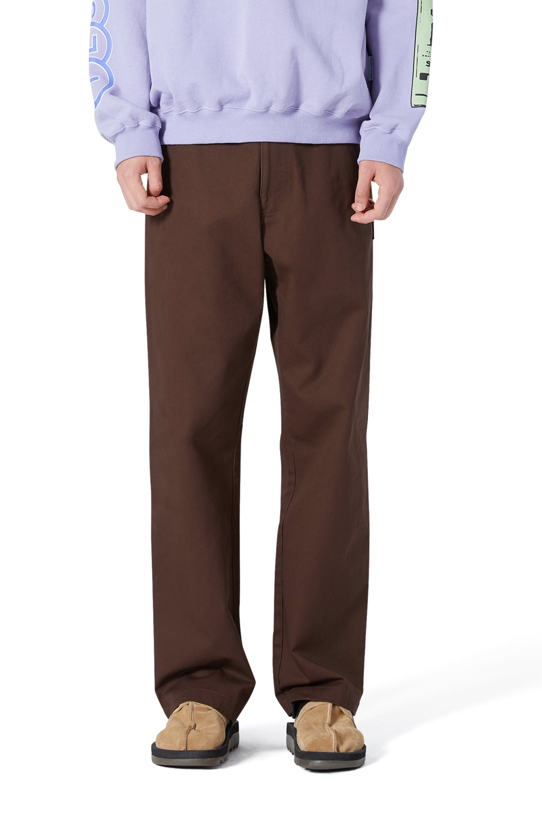 Clover Chino Pants Brown