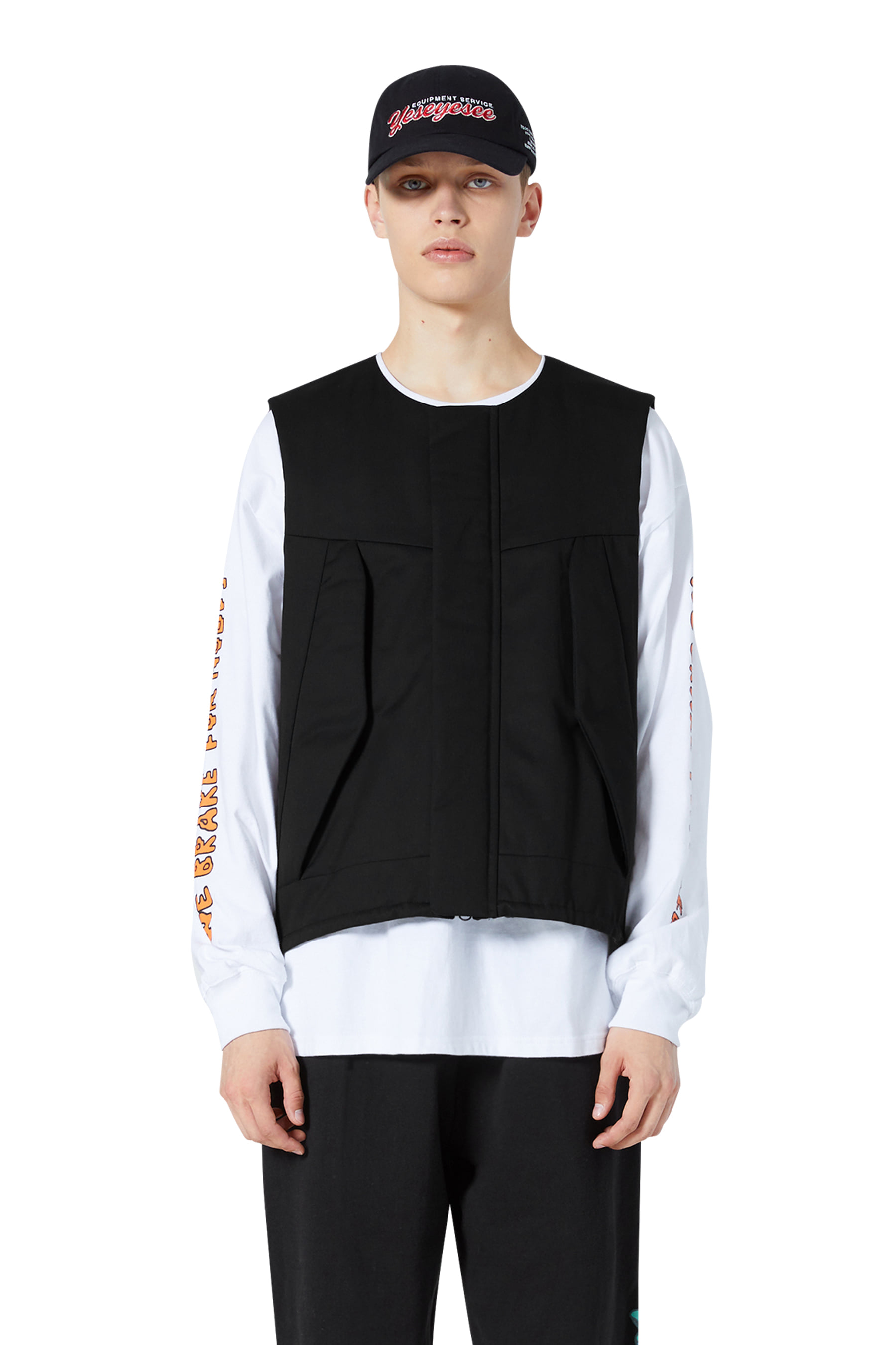 Y.E.S Jungle Vest Black
