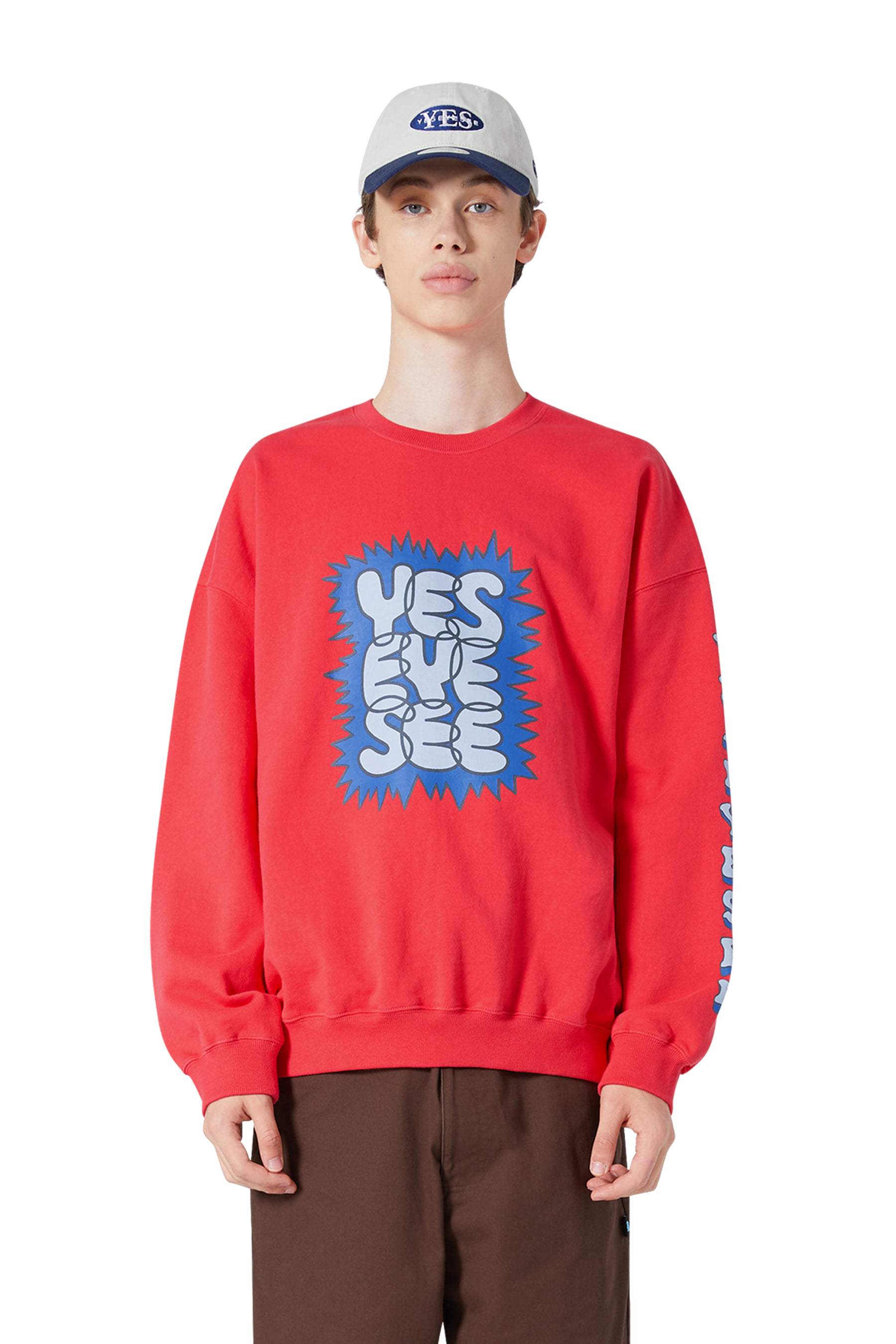 Acid Sweatshirts Red
