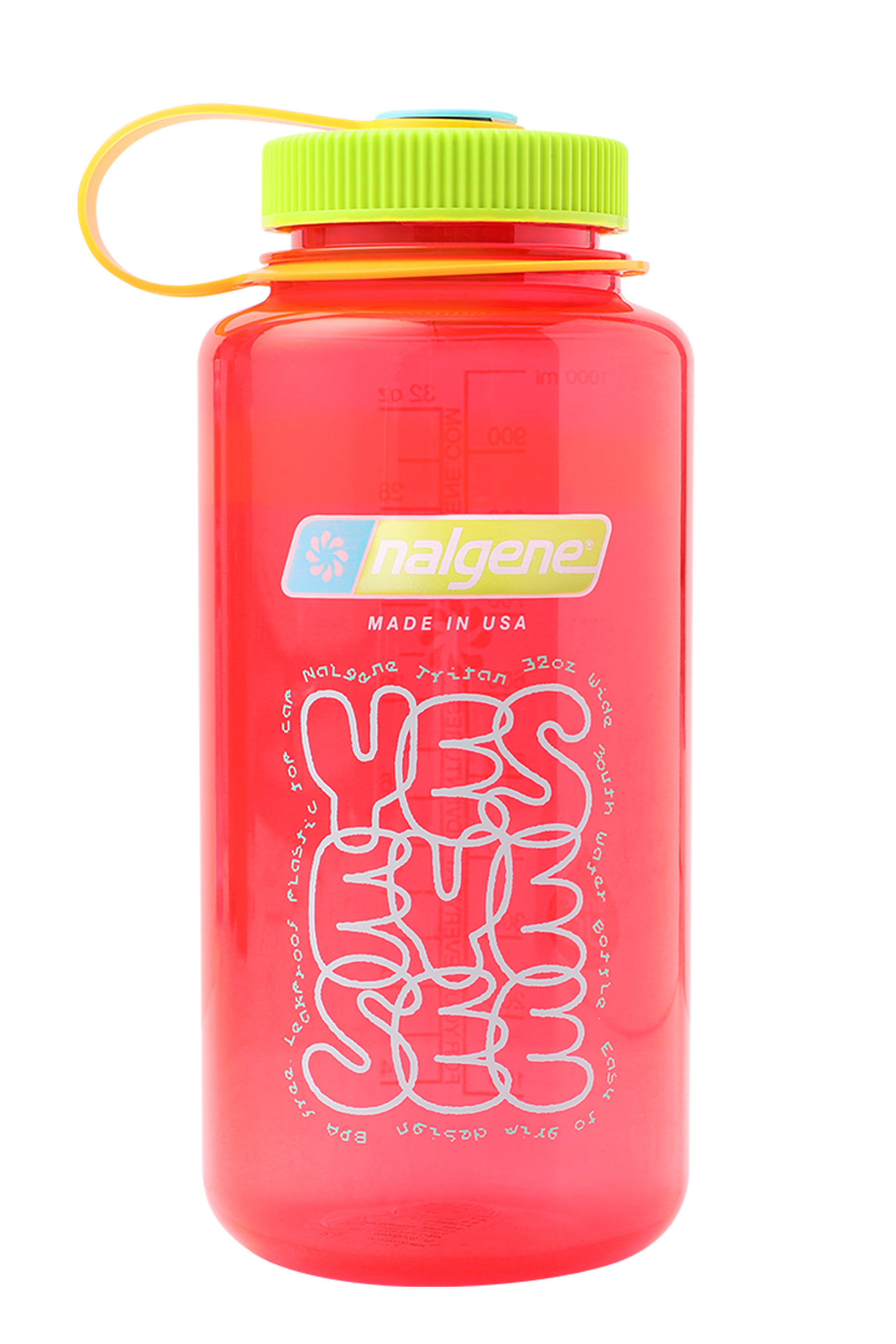 Y.E.S water bottle Pomegranate