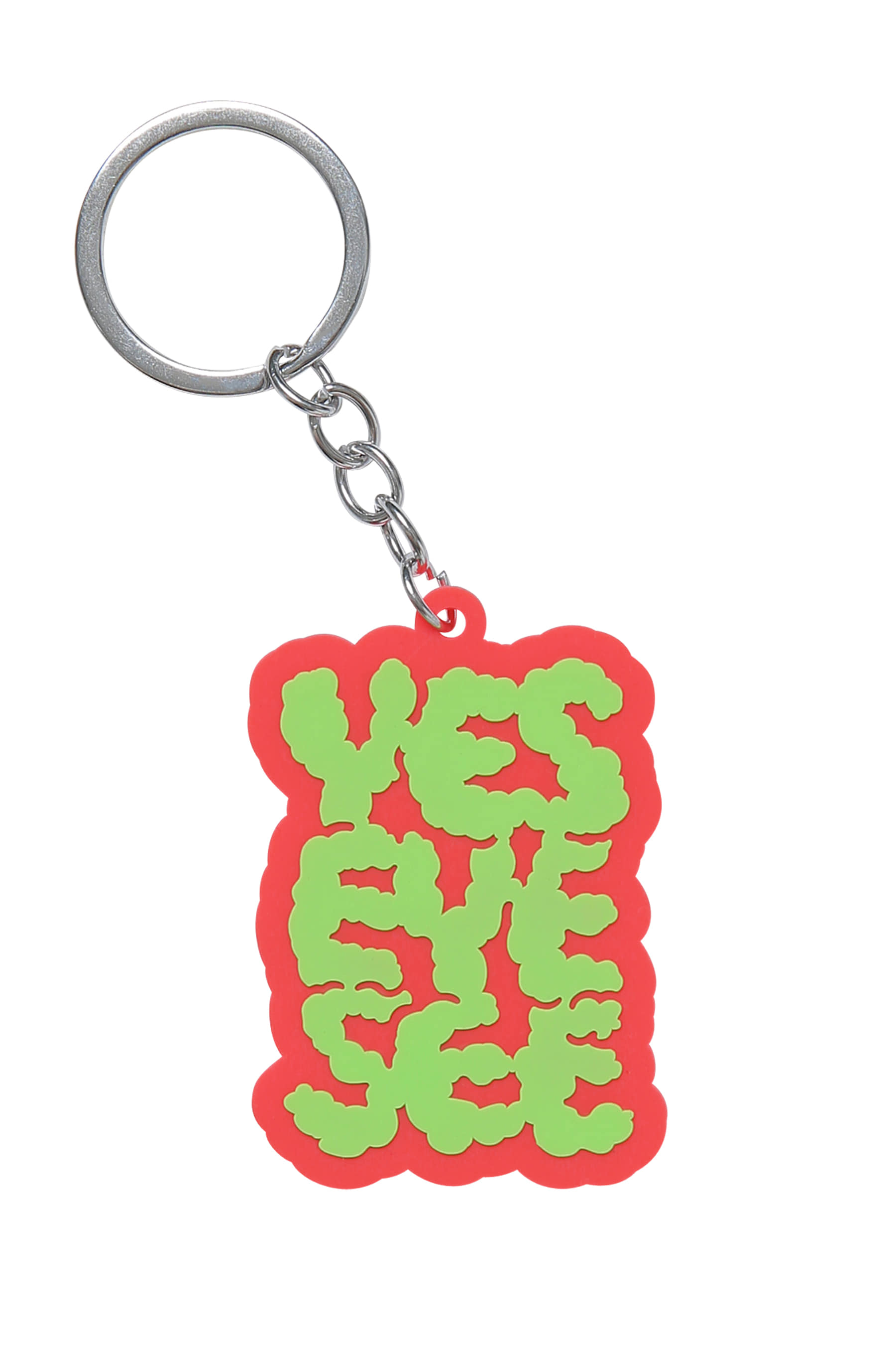 Y.E.S  Cloud keyring Red