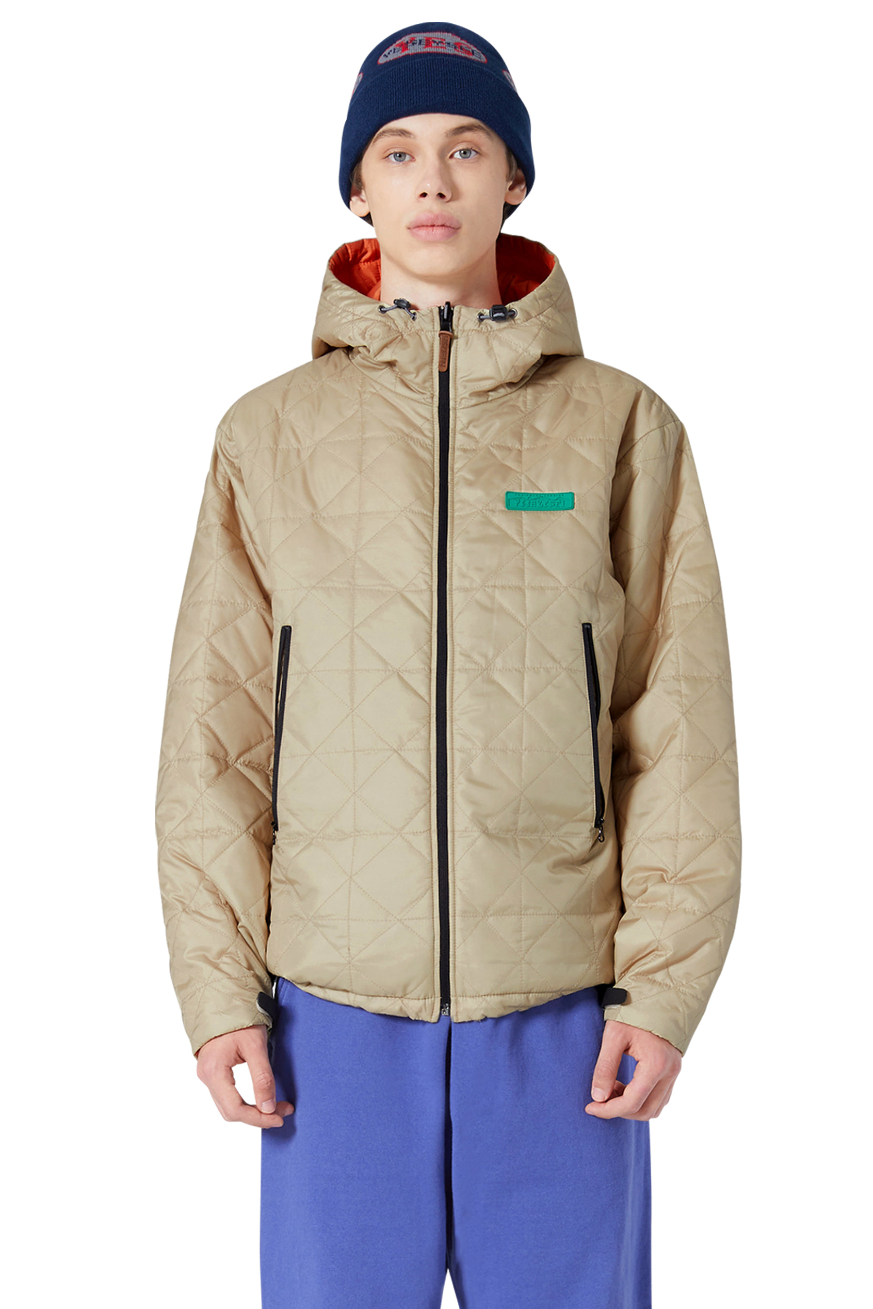 Y.E.S Reversible Parka Beige/Orange