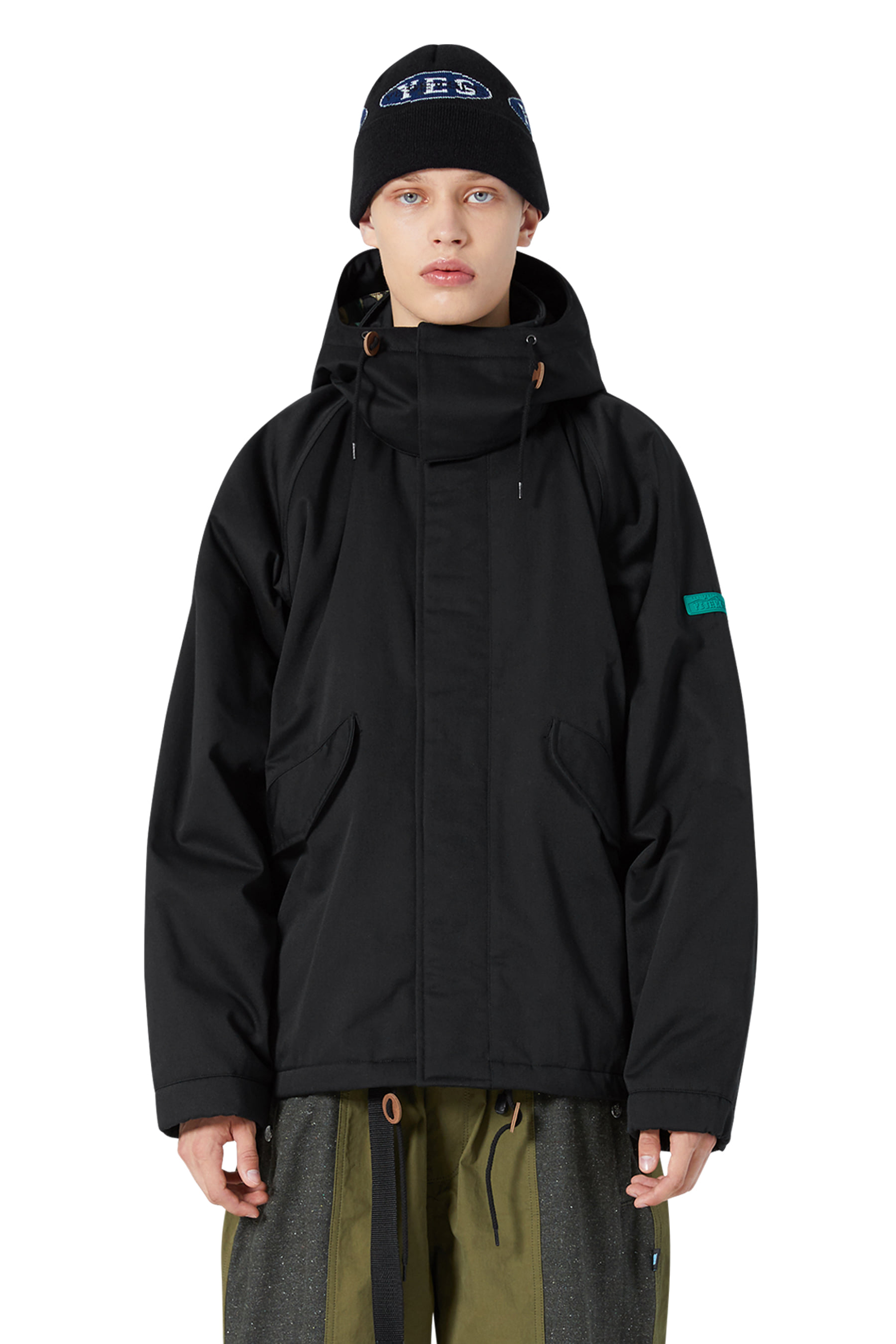 Y.E.S Jungle Jacket Black