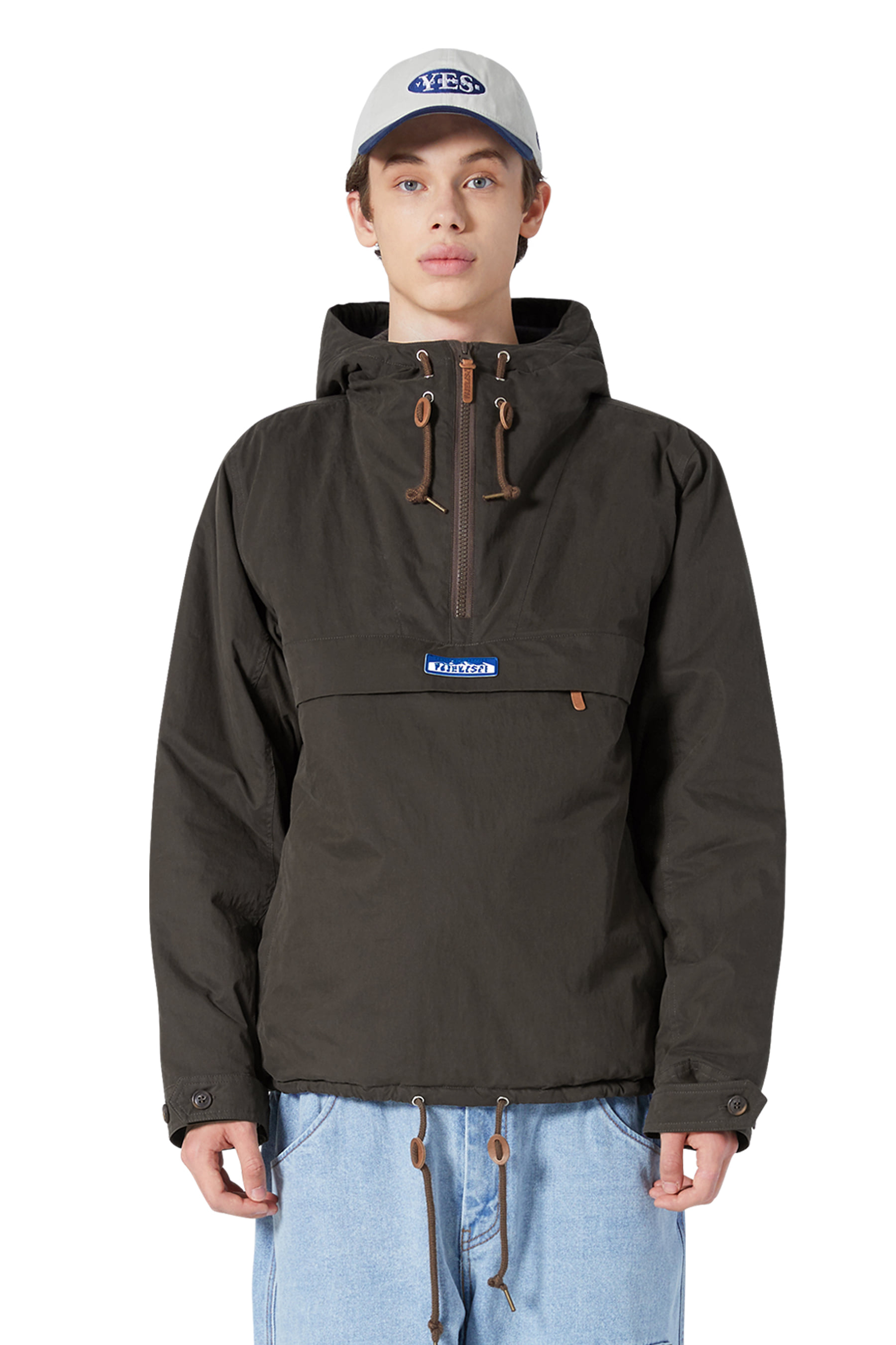 Y.E.S Mountain Anorak Brown