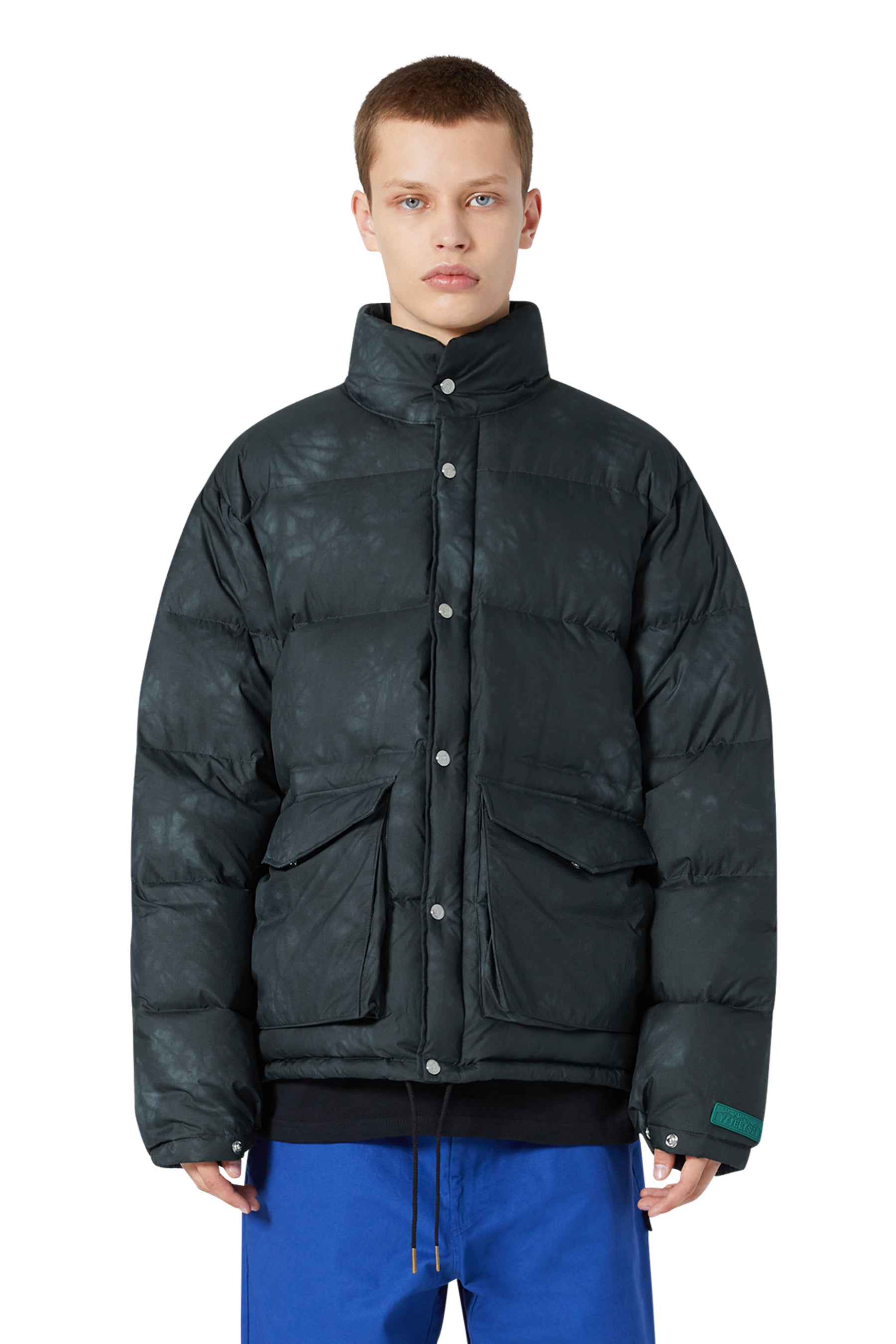 Y.E.S Dyed Down Jacket Black