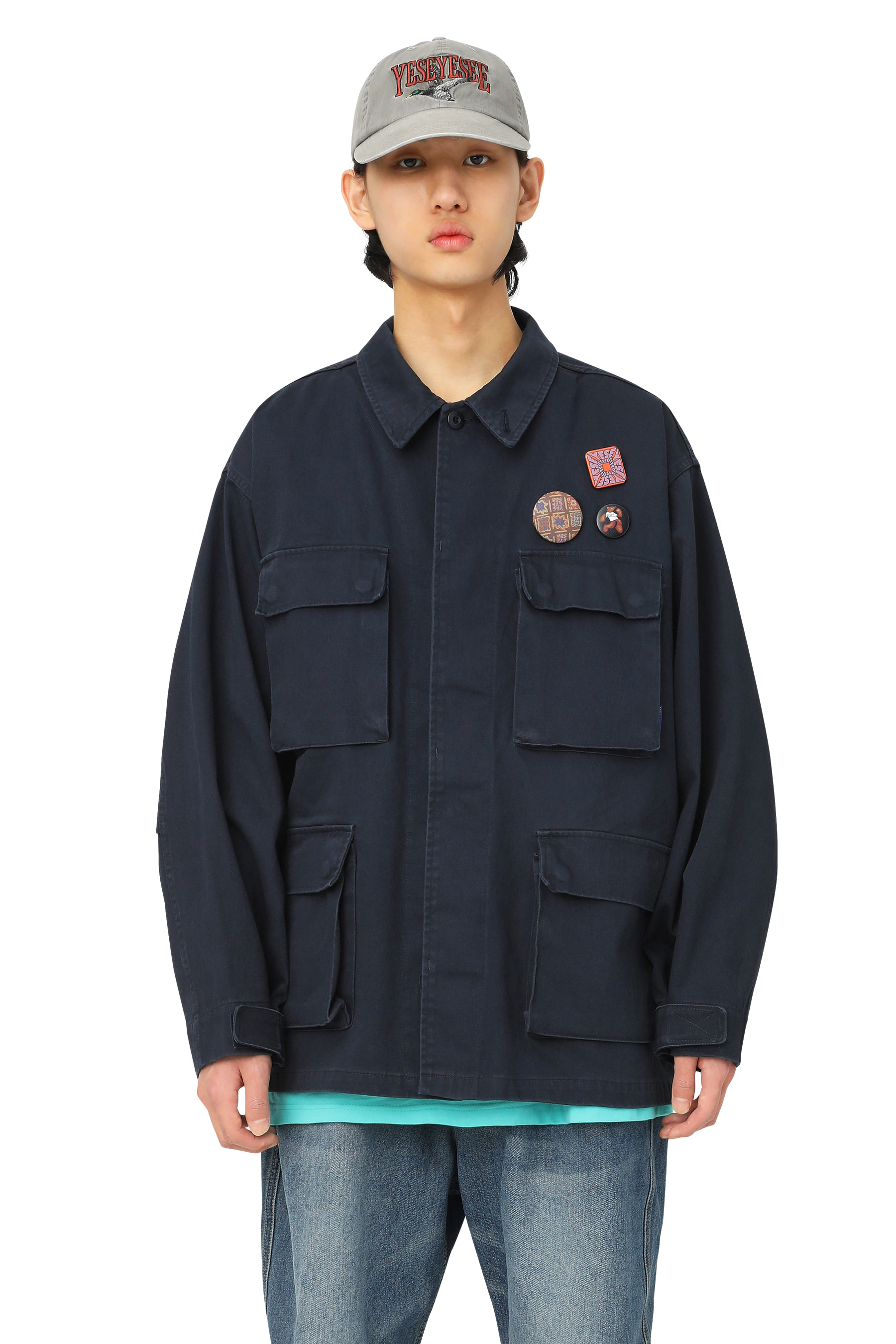 Y.E.S BDU Jacket Navy