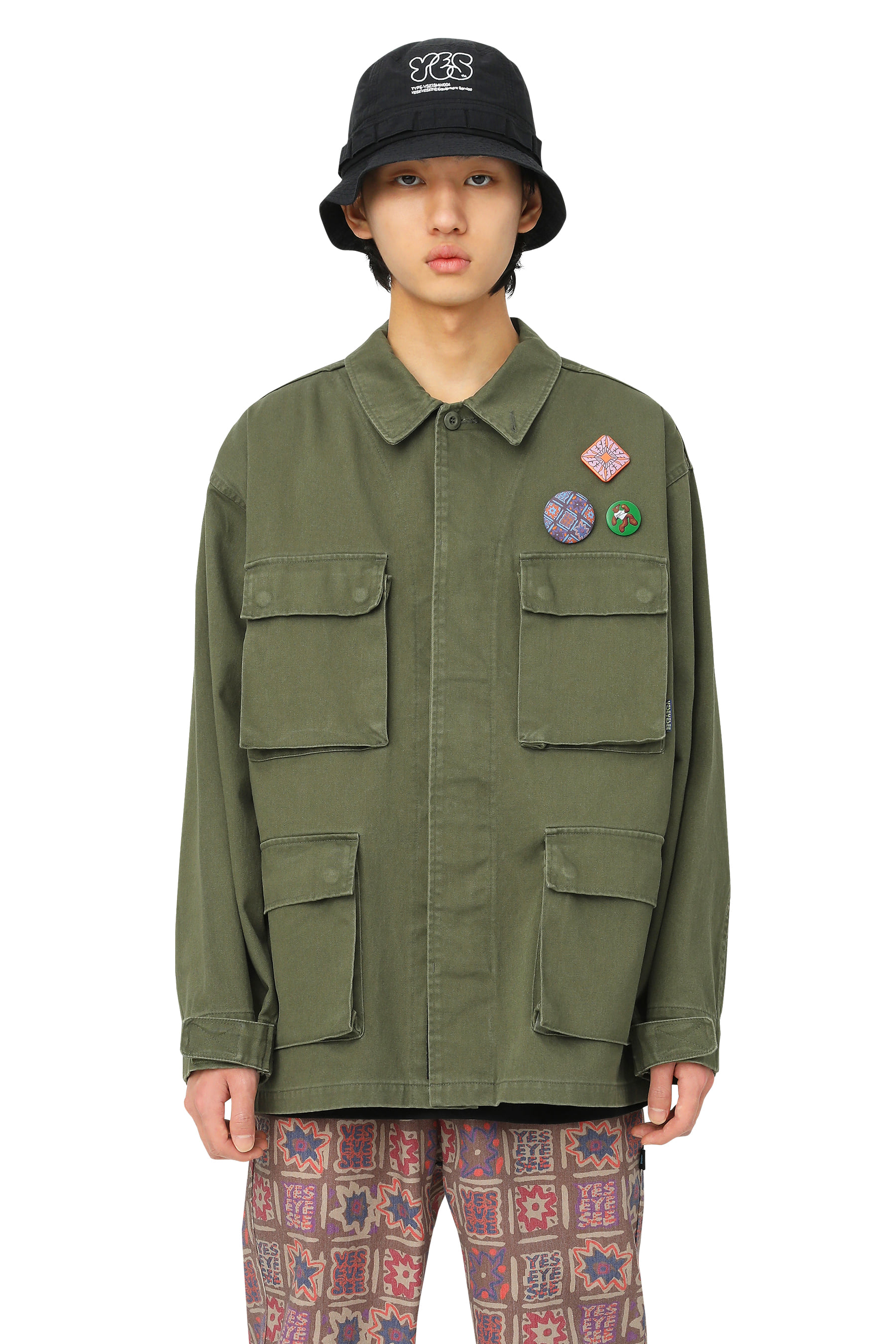 Y.E.S BDU Jacket Olive