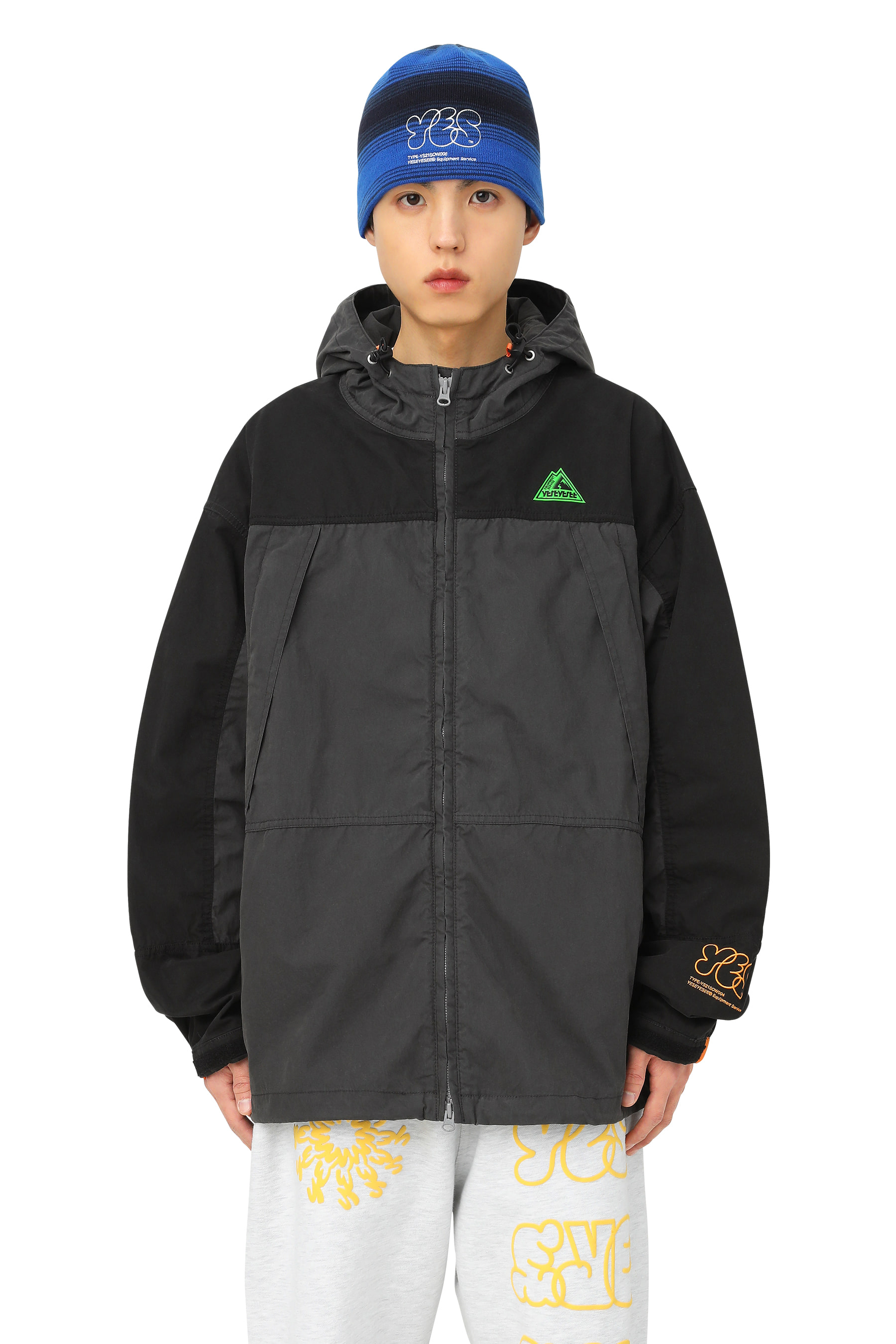 Y.E.S Travel Parka Black