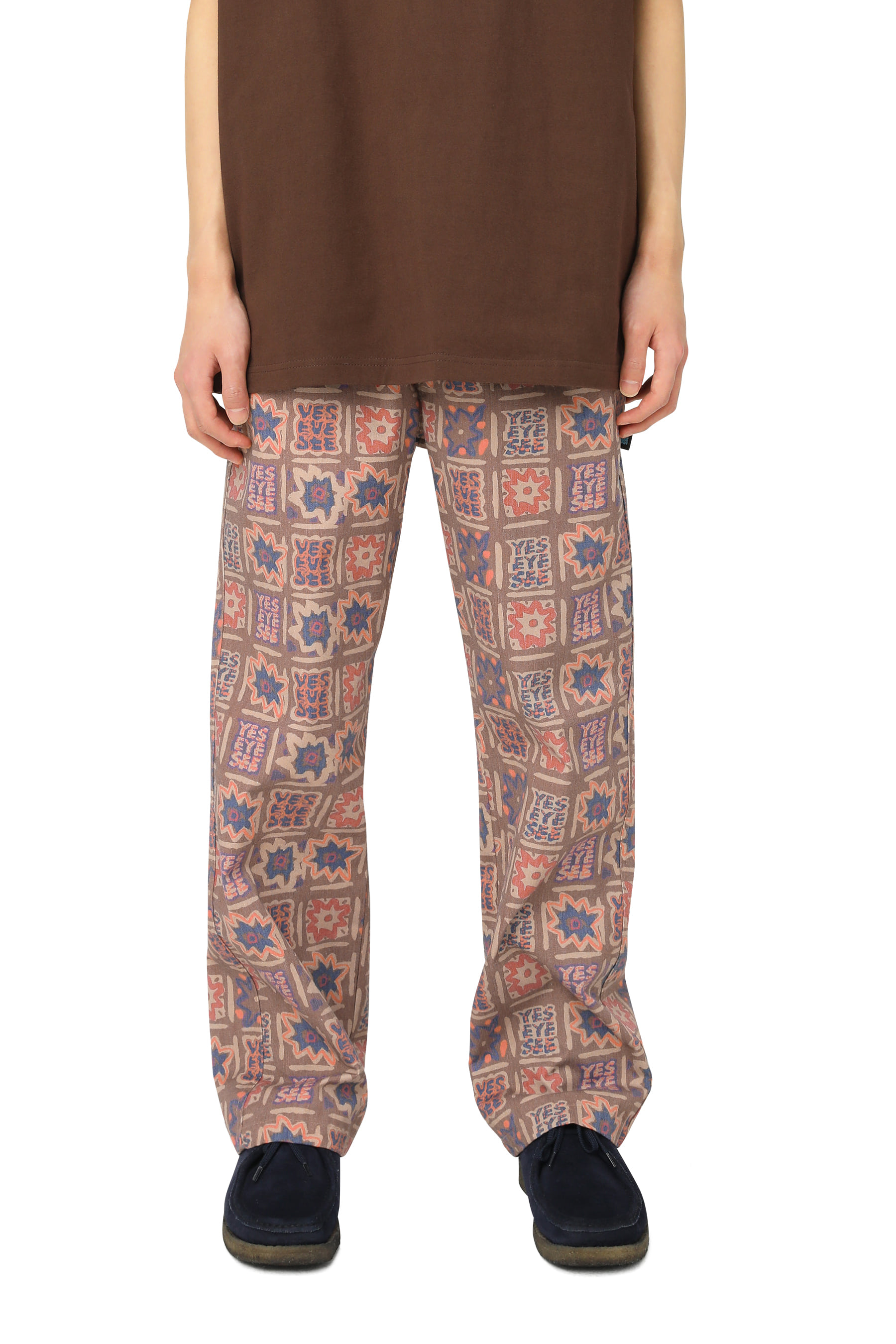 Y.E.S Relaxed Pants Brown