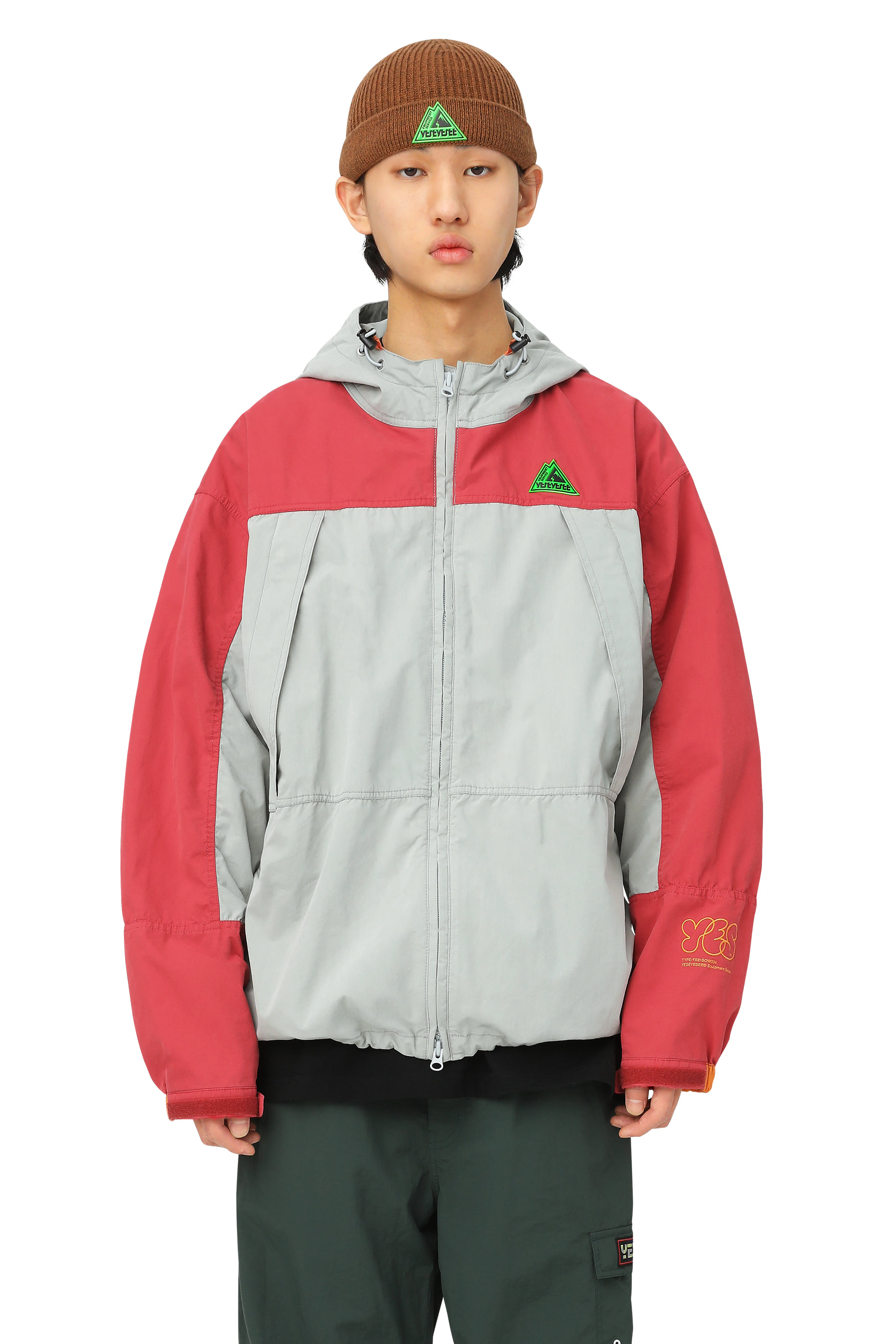 Y.E.S Travel Parka Red