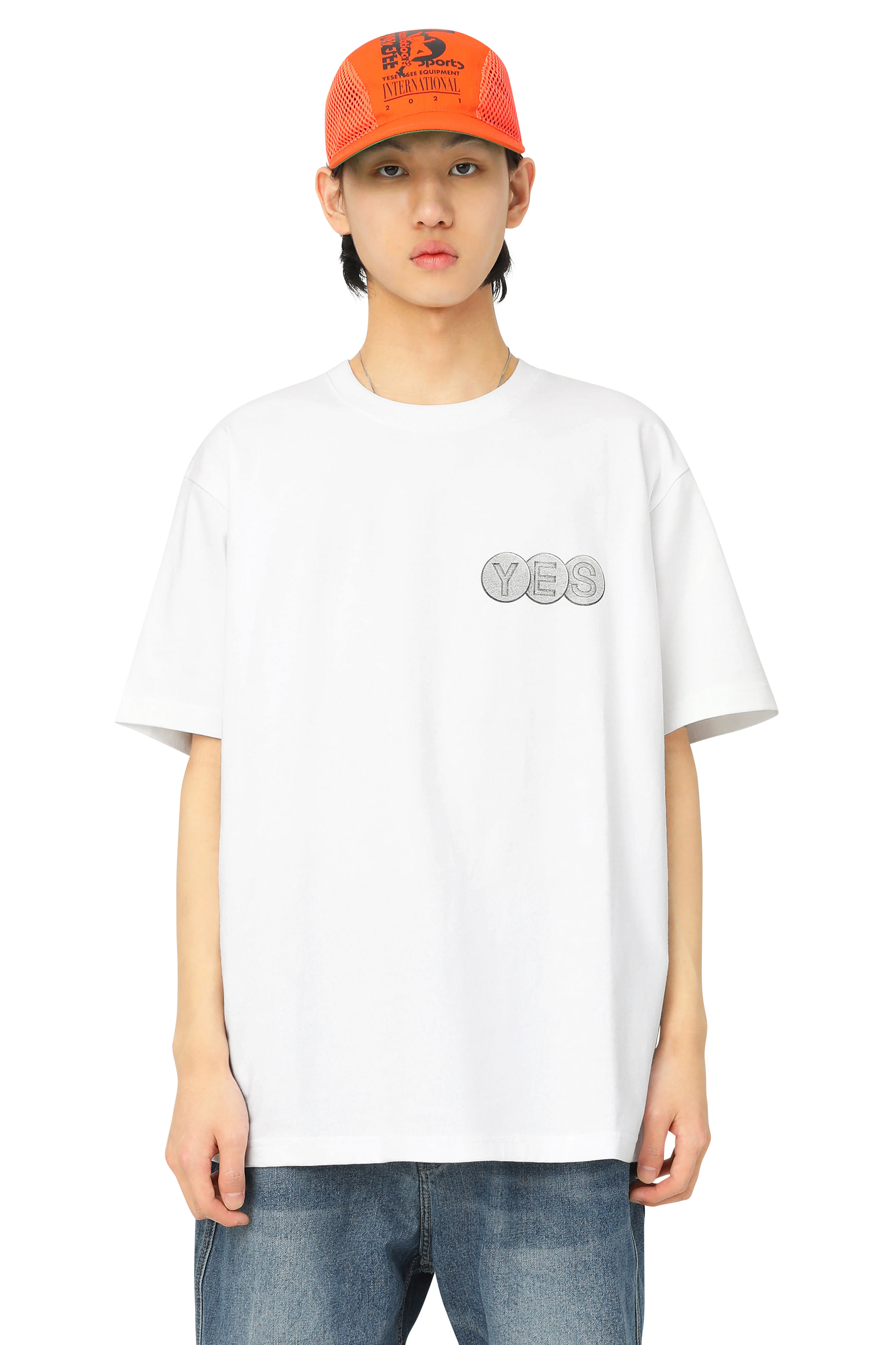 Y.E.S Screw Tee White