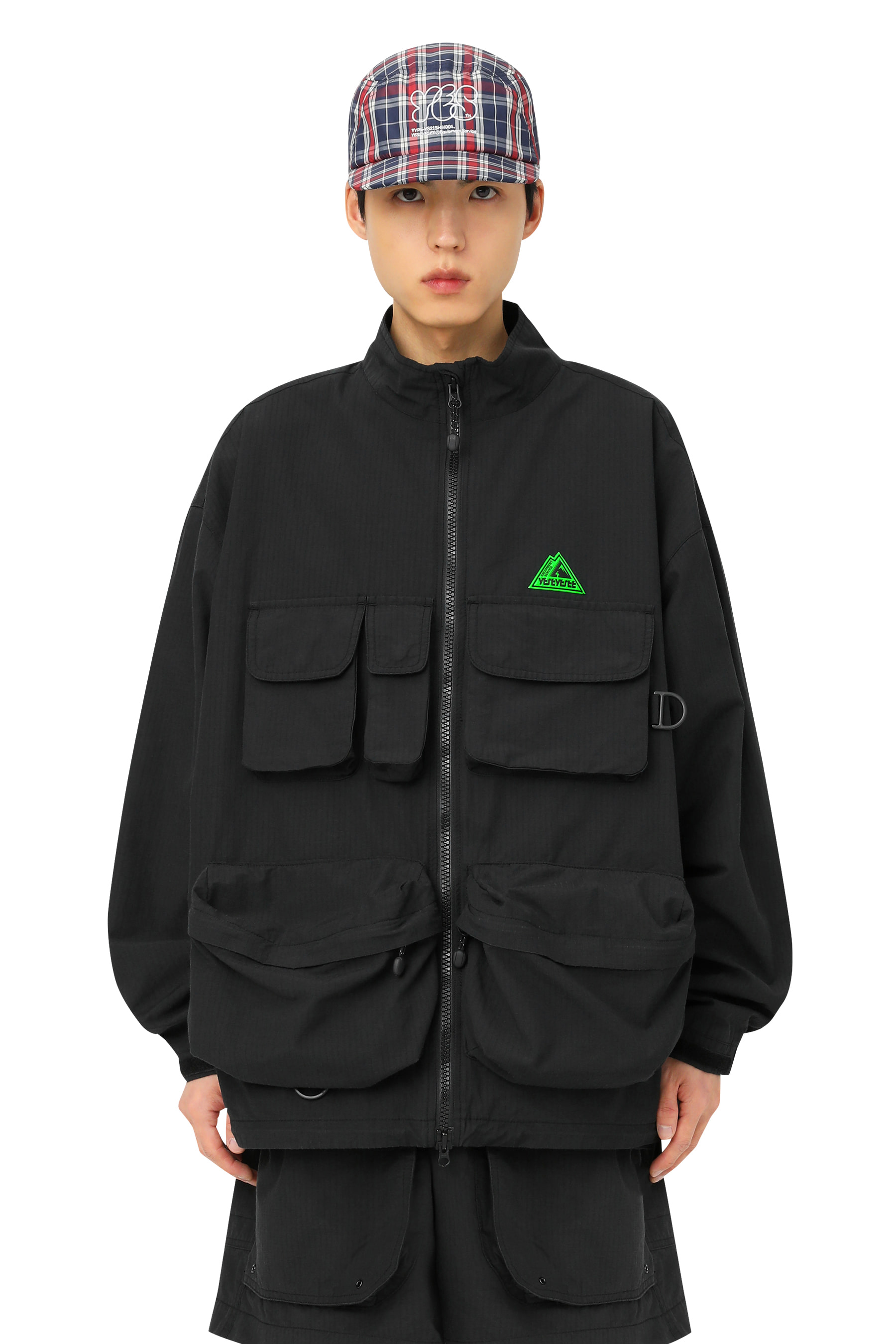 Y.E.S Fishing Parka Black