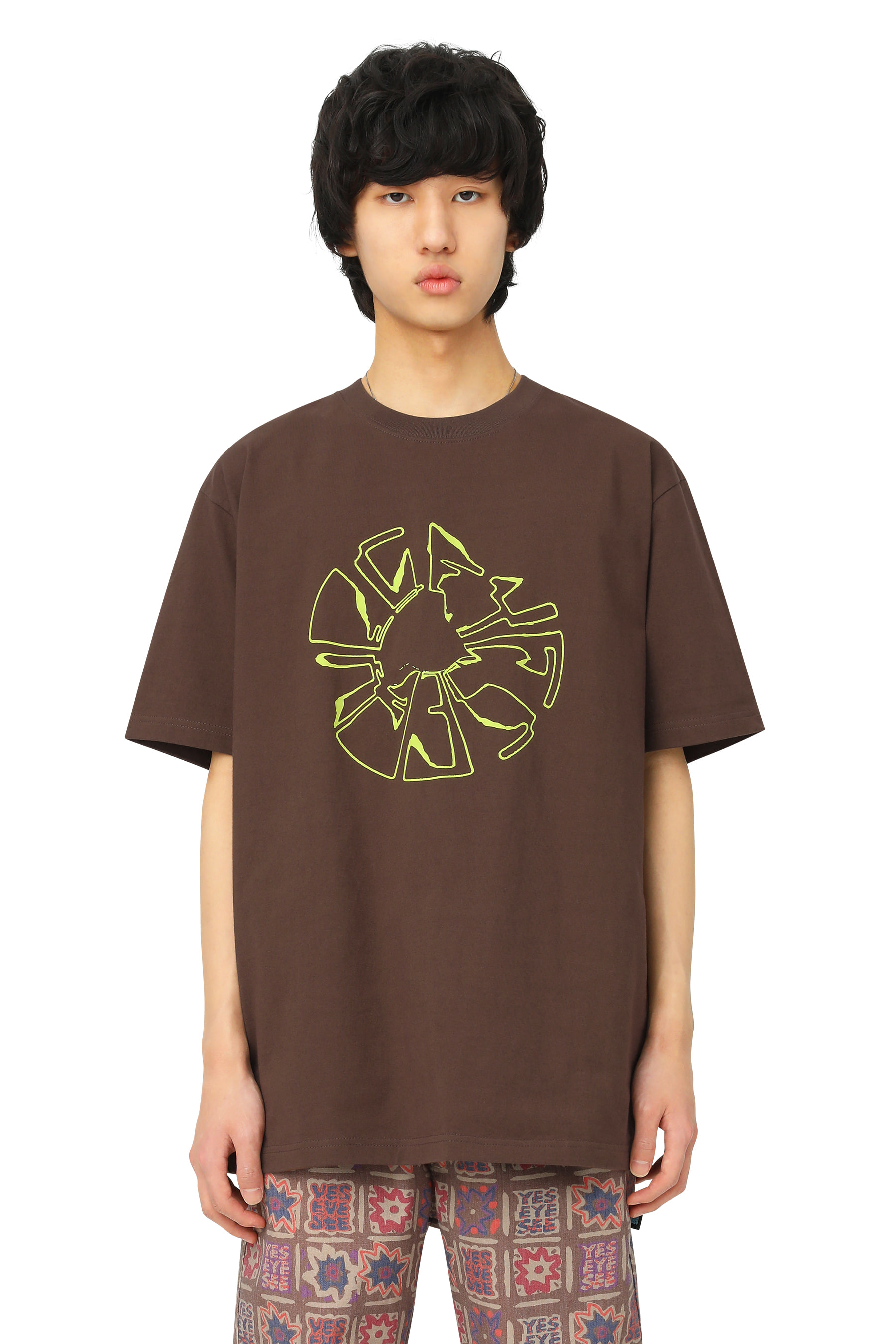 Y.E.S Magnetic Tee Brown