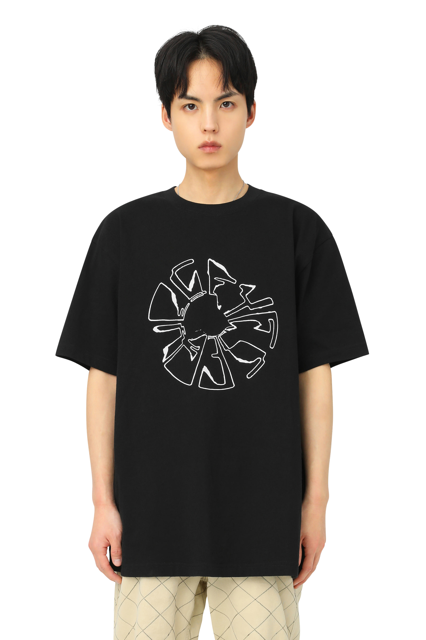 Y.E.S Magnetic Tee Black