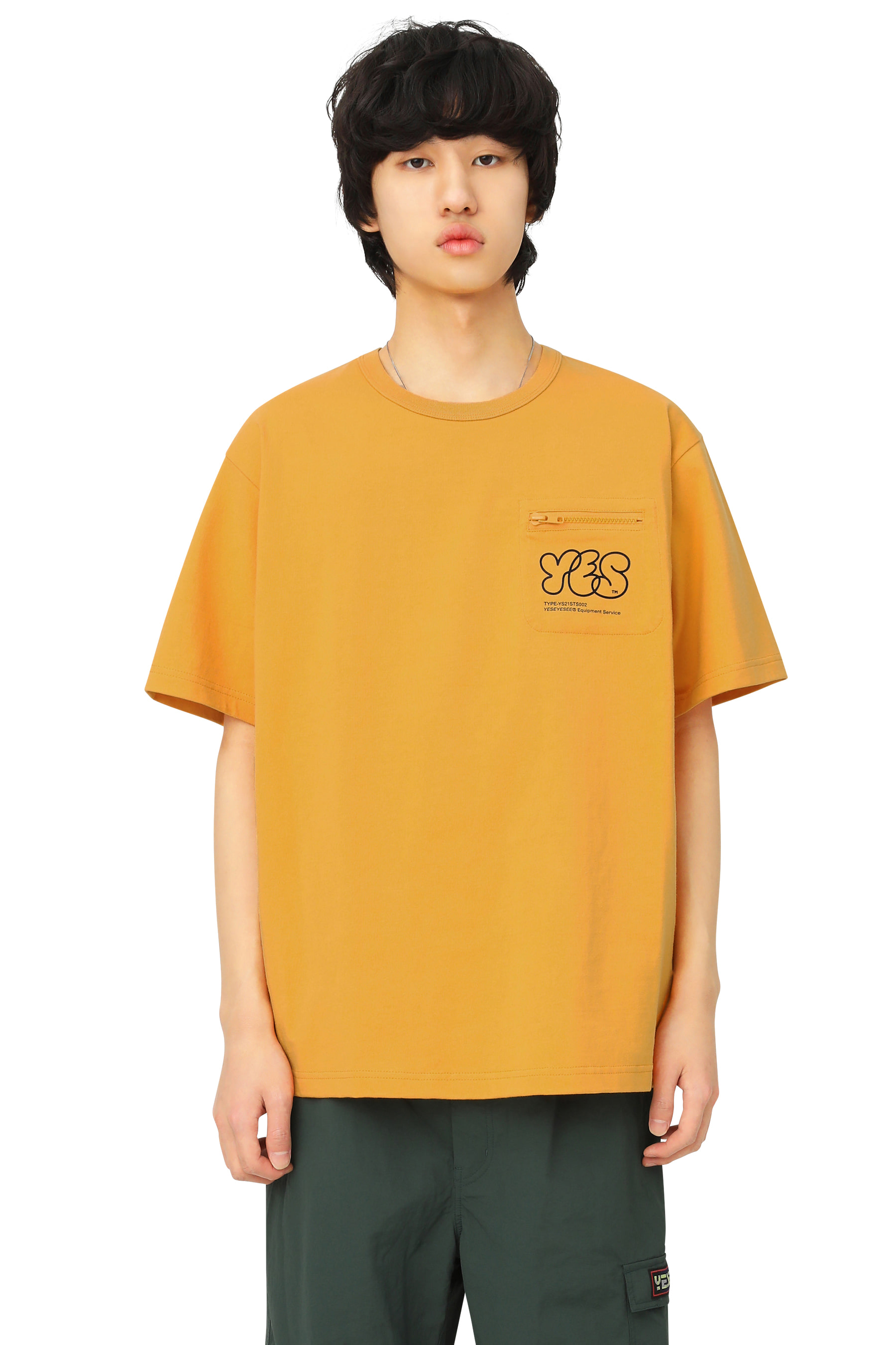 Y.E.S Pocket Tee Yellow